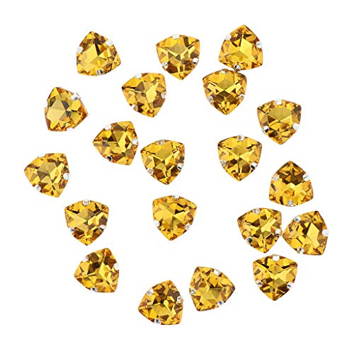 su B di per pezzi di strass rosso 20 diamanti vestiti cintura oro abbigliamento cucire Baosity decorazione scarpe q1vUfT1rIw