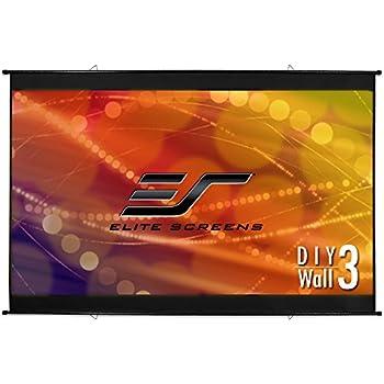 Elite Screens Diy Wall 3 116 Inch Indoor Outdoor Portable Projector Screen Pvc 16 9 8k 4k Ultra Hd 3d Movie Theater Cinema 116 Projection Screen