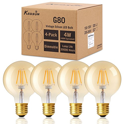 Dimmable KEDSUM Filament Equivalent compatible product image