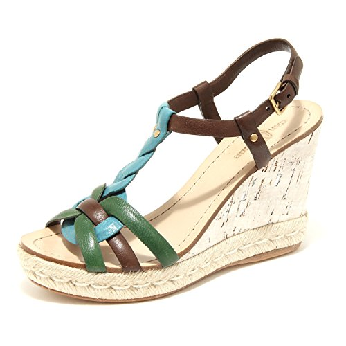 Shoes Donna Scarpe Verde 17753 moro Car blu Sandalo Shoe Women qwtXwI6c