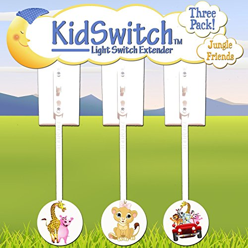 (Kidswitch Light Switch Extender My Jungle Friends - 3)