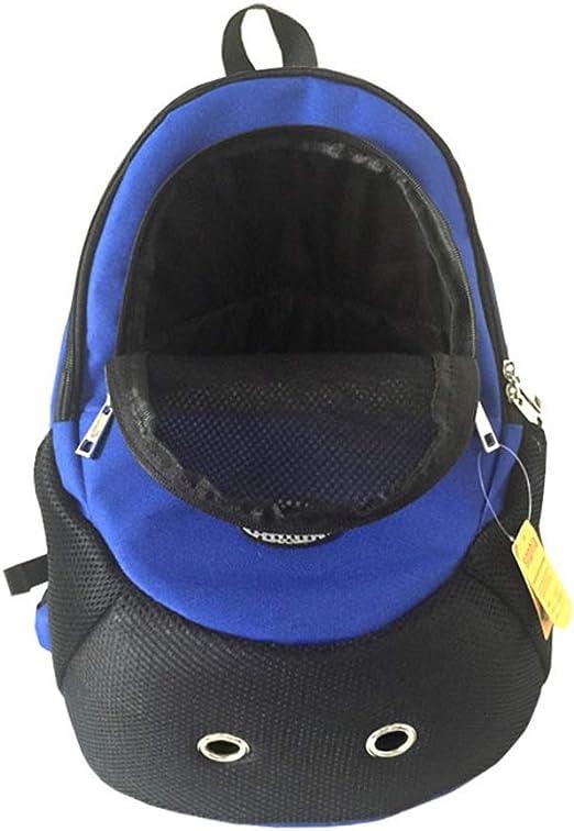 LNLW Pet Dog Cat Bag Chest Bag out Sports Backpack Small Dog Carrier Small Dog Carrier (Color : Azul, Size : 36 * 16 * 39cm): Amazon.es: Productos para mascotas