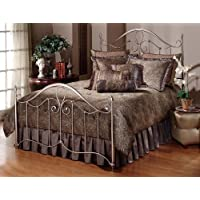 Hillsdale Furniture 1383-490 Doheny Headboard, Antique Pewter