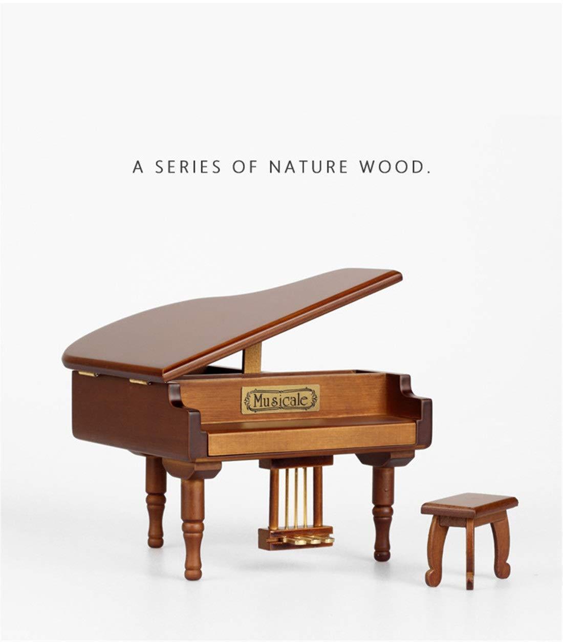 Casa perfecta Caja de música para Piano Día de la Mujer Caja ...