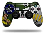Vinyl Skin Wrap for Sony PS4 Dualshock Controller WWII Bomber War Plane Pin Up Girl (CONTROLLER NOT INCLUDED) For Sale