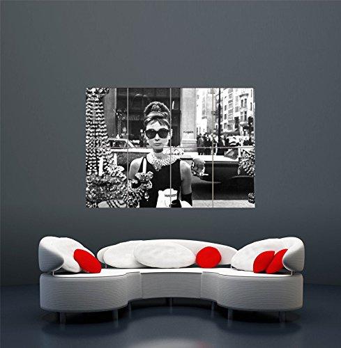Audrey Hepburn Poster - Breakfast at Tiffanys Giant Art Print Poster - Sunglasses Hepburn Tiffany Audrey