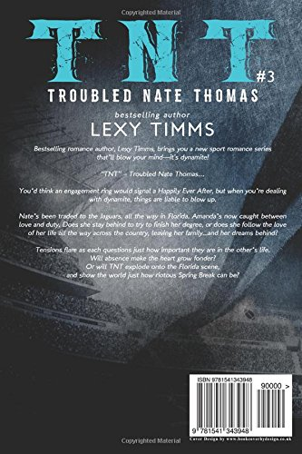 6ee85b265c Amazon.com  Troubled Nate Thomas - Part 3  Sport Football Hot Billionaire  Romance (T.N.T. Series) (Volume 3) (9781541343948)  Lexy Timms  Books