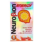 OTC Neurobion Energy Dietary Supplement 60 Tabs - Suplemento Multivitaminico (Pack of 9)