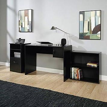 Amazoncom Shelves Desk Computer Table Office Furniture Wood