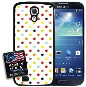 Rainbow Polka Dots Galaxy S4 Hard Case