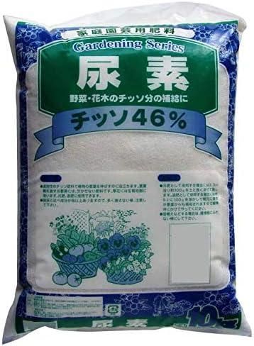 野菜・花木のチッソ分の補給に。 10-15 あかぎ園芸 尿素 10kg 2袋 〈簡易梱包