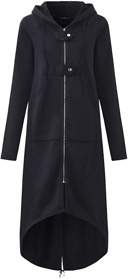 Aberimy Damen Jacke Mantel Outdoor Herbst Winter Mode Solide