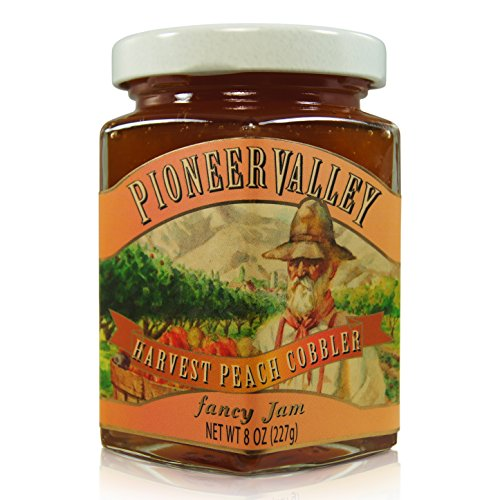 Pioneer Valley Gourmet Harvest Peach Cobbler Jam - Harvest Peach