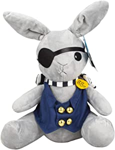 Cosplaybala Black Butler Cosplay Costume Accessory Rabbit Plush Stuffed Toys (Grey, One Size)