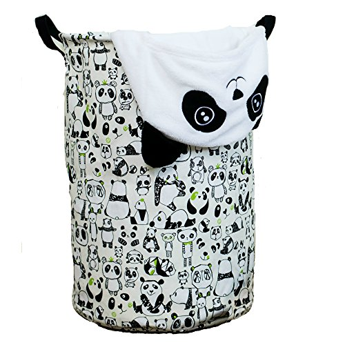 Panda Prints Basket for Kids  or  Baby Nursery