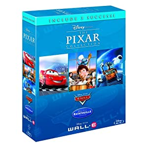 Pixar Collection [Blu Ray] Cars, Ratatouille & Wall E für 19,92€ inkl. Lieferung