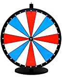 36in Red, White and Blue Quality Spinning Dry Erase Prize Wheel