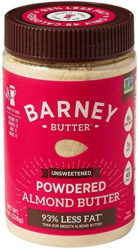 Peanut & Nut Butters: Barney Butter Powdered Almond Butter Unsweetened