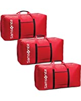 Samsonite Tote-a-ton 33 Inch Duffle Luggage Boxed (3 - Pack, Red)