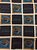 The Northwest Company Jacksonville Jaguars Fabric Shower Curtain
