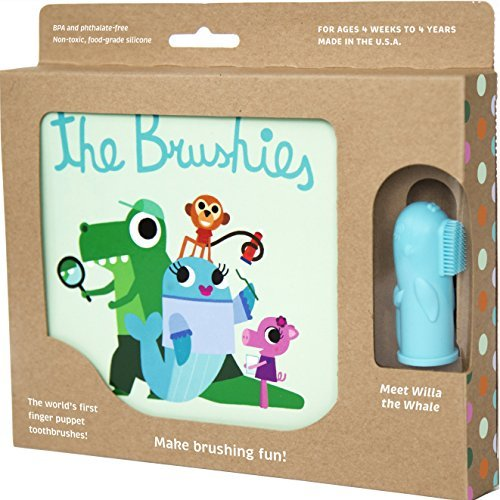 The Brushies - Baby and Toddler Toothbrush and Storybook