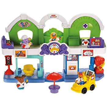 Fisher-Price Animalville Town Center Play Set