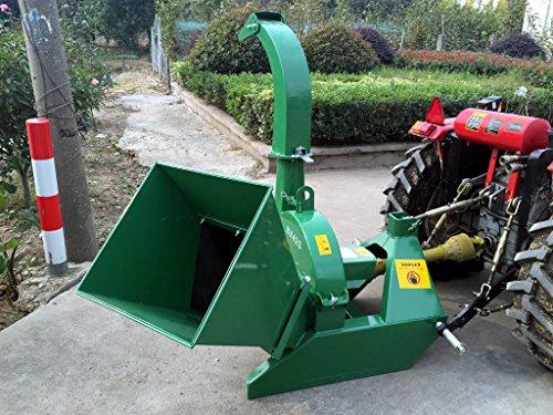 Wood Chipper Tractor Attachment PTO Cutter Leaf Mulcher