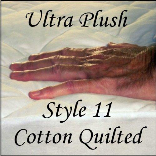 London Bridge Linens Style 11 Ultra Plush Cotton Pad Big Band Style - Hotel Queen
