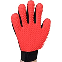 AWINNER [Upgrade Version Pet Grooming Glove - Gentle Deshedding Brush Glove - Efficient Pet Hair Remover Mitt - Enhanced…