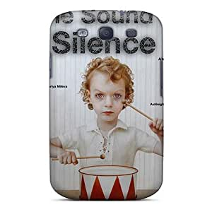 RitaSokul Samsung Galaxy S3 Best Cell-phone Hard Covers Customized Vivid Burn In Silence Band Skin [lCF13816fLOy]