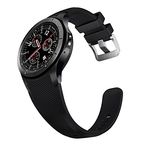 Amazon.com: ⌚ LEMFO LF16 Bluetooth Smart Watch Phone with WiFi GPS 3G WCDMA Android Smartwatch Wristwatch Wearable Devices (Gray and Black): Cell Phones & ...