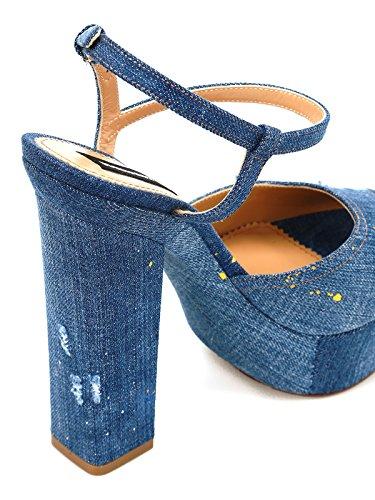 vestir Sandalias algodón de mujer para de DSQUARED2 q0E7Fw6E