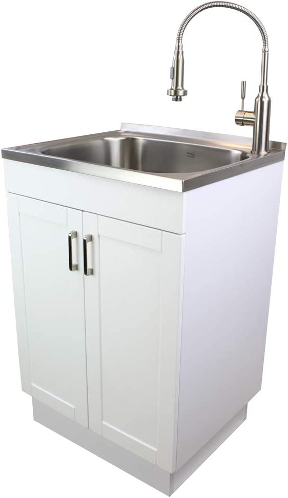 Transolid TC 2420 WC 24 in. All in One Laundry/Utility Sink Kit