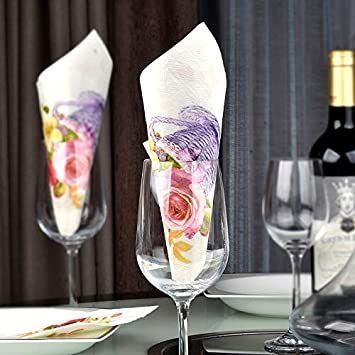 Amazon.com Haga Colored Tissue Paper 10pcs Floral Flower