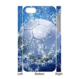 meilinF0003D Bumper Plastic Case Of Football customized case For ipod touch 4meilinF000