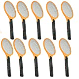 10x Cordless Rechargeable Bug Zapper Mosquito Insect Electric Fly Swatter Racket