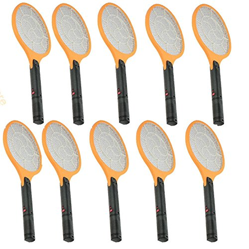 10x Cordless Rechargeable Bug Zapper Mosquito Insect Electric Fly Swatter Racket by Insect Zappers