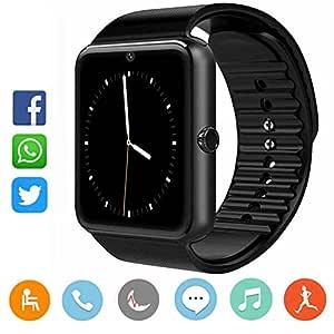 CatShin Smartwatch Android y iOS-Reloj Inteligente Reloj Deportivo ...