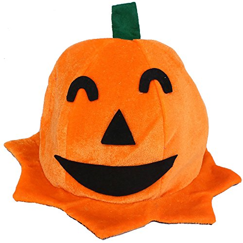 Cos Halloween Pumpkin hat Pumpkin Motifs Lint Top Orange Hats Cap Holiday Presents Birthday Surprise