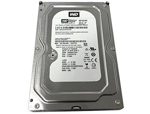 Western Digital AV-GP WD10EURX 1TB IntelliPower 64MB Cache SATA III 6.0Gb/s 3.5'' Internal Hard Drive [Certified Refurbished]- w/1 Year Warranty by Western Digital