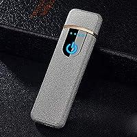 Accendino USB, SHUNING Più Popolari Riscaldamento Coil Ricaricabile Accenditore Elettronico Antivento Senza Fiamma Preferita alta Qualità Mini Portatile più Leggero