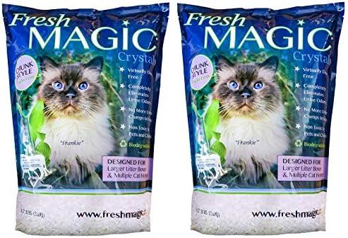 FreshMAGIC Large Crystal Litter 2 Pack