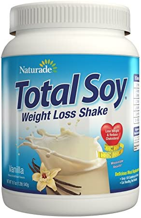 Naturade Total Soy Protein Powder and Meal Replacement Shakes For Weight Lo