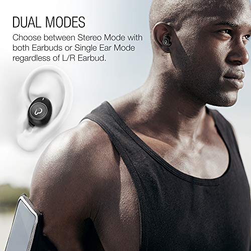 Purity True Wireless Earbuds with Immersive Sound Bluetooth 50 Earphones inEar with Charging Case