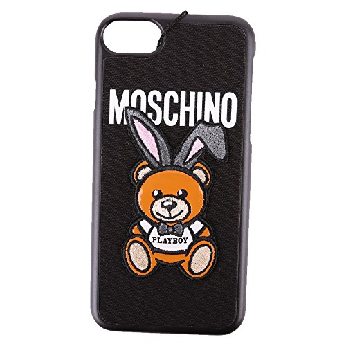 Moschino Women's A790783071555 Black Plastic Cover by MOSCHINO (Image #2)