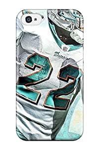 High Impact Dirt/shock Proof Case Cover For Iphone 4/4s (miamiolphins )