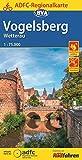 ADFC-Regionalkarte Vogelsberg Wetterau mit Tagestouren-Vorschlägen, 1:75.000, 1:75.000, reiß- und wetterfest, GPS-Tracks Download (ADFC-Regionalkarte 1:75000)