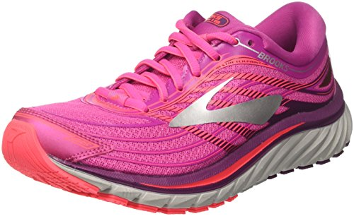 Femme Brooks Rose Pink Gymnastique Chaussures Silver 15 1b608 Glycerin Purple de aS6B1q