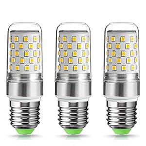 9W E27 LED Light Bulb, Techgomade 80W Incandescent Bulbs Equivalent, High Brightness 1000LM, Warm White 2700K, Beam, Non…