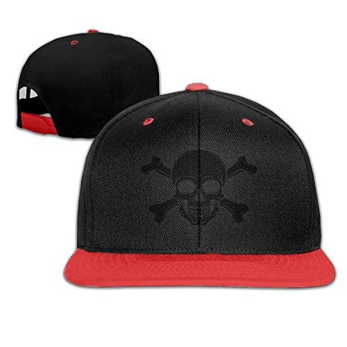 [Pirate Skull Kid Hip Hop Baseball Cap Toddler Snapback Hat For Boys Girls Comical Adjustable Cool Trucker Plain Flat Hats For Dance,Neo-Jazz,Street Jazz,Reggea] (Pirate Tooth Cap With Skull)